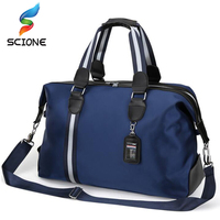 New Gym Bag Men Women Fitness Outdoor Travel Waterproof Large Capacity Nylon Handbag 2 Size Duffle