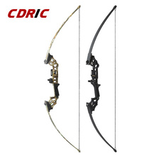 40Ibs Junxing Straight Bow Fishing Compound Bow With Accessories For Archery Hunting Shooting Outdoor Sport 2 Color High quality
