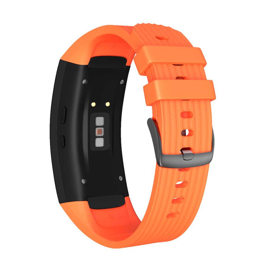 JKER סיליקון רצועת השעון רצועת עבור Samsung Galaxy Gear Fit2 פרו שעון להקת יד צמיד רצועות עבור Samsung Gear Fit 2 SM-R360