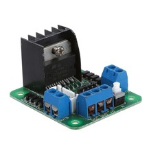 L298N Dual H-bridge Stepper Motor Driver Control Board Module(China)