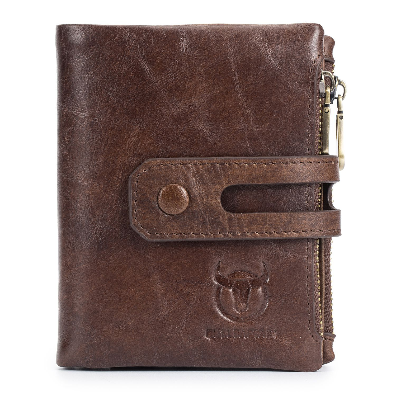 ABDB BULLCAPTAIN Hot Genuine Leather Men Wallets Credit