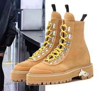 Shoes Woman Zapatos Mujer Women Pumps Casual Motorcycle Martin Boots Platform Sapato Feminimo Lace Up Ankle Boots BYB16121