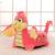 Venda quente Lindo Sofá Cadeira Crianças Cute Padrão Animal Dos Desenhos Animados Do Bebê Beanbag Assento Do Sofá de Cristal Super Macio Crianças Dormindo Cama