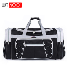 New Waterproof Men Travel Bags Huge Luggage Bag Mens Duffel Portable Tote Large Weekend Crossbody Handbags XA132k