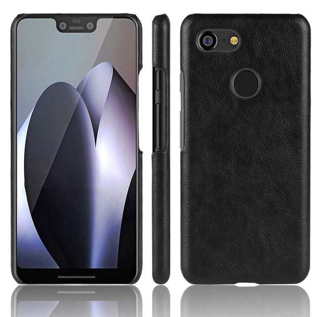 best sneakers f2975 ed886 US $2.7 15% OFF| For Google Pixel 3 3XL case cover back cover vintage PU  leather men business shockproof case For Google Pixel 3 XL coquecase-in ...