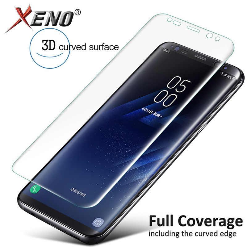 Protector de pantalla para Samsung Galaxy S9 S8 más S7 borde S10 más S10e Protector de pantalla de Samsung Nota 9 8 10 más S9 S8 Plus 9 película