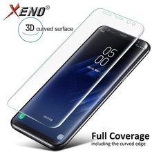 For Samsung Galaxy S7 Edge Screen Protector 3D Curved Full Cover Protective Film S6 Plus ( Not Tempered Glass )