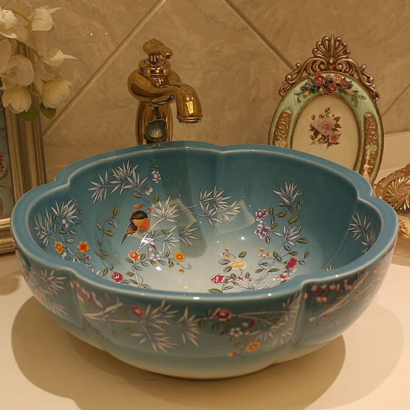 Hand Painted Sinks For The Bathroom Techieblogie Info