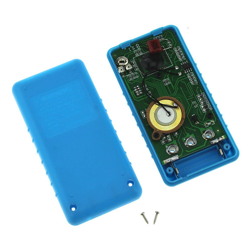 Portable font b Mini b font Digital Multimeter Voltage Ampere Ohm Meter DC AC LCD With