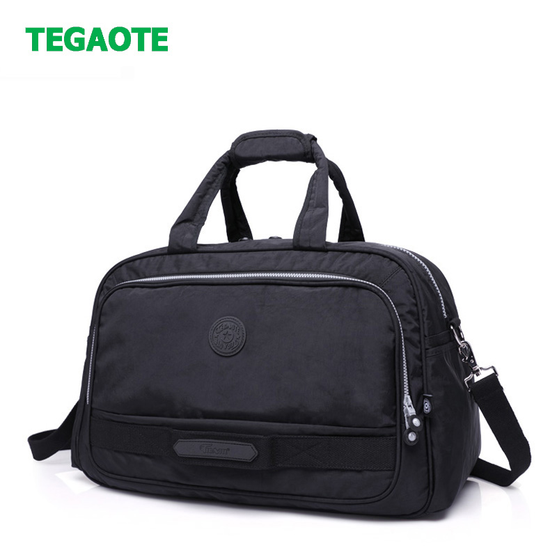TEGAOTE Brand Travel Bags Waterproof Large Capacity Hand Luggage Traveling Bag Fashion Women Weekend Travel Duffle Bag Handbags