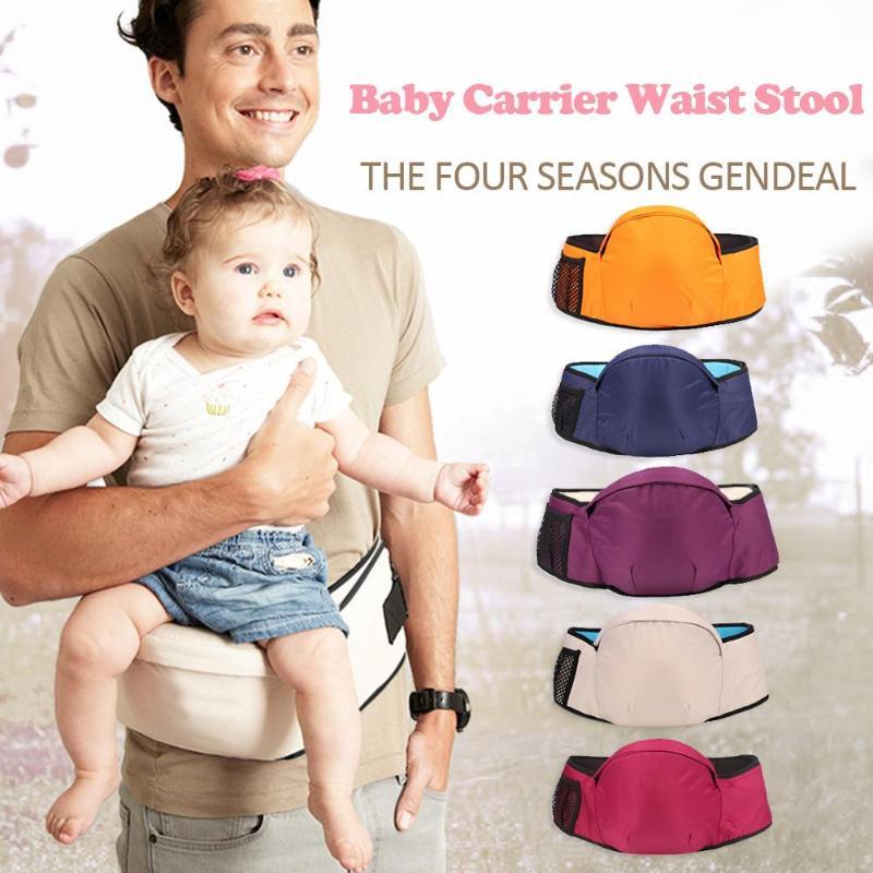 Carrier Waist Stool Walkers Newborn Baby Sling Front Holder Waist Belt Backpack Hipseat Belt Kids Infant Hip Seat