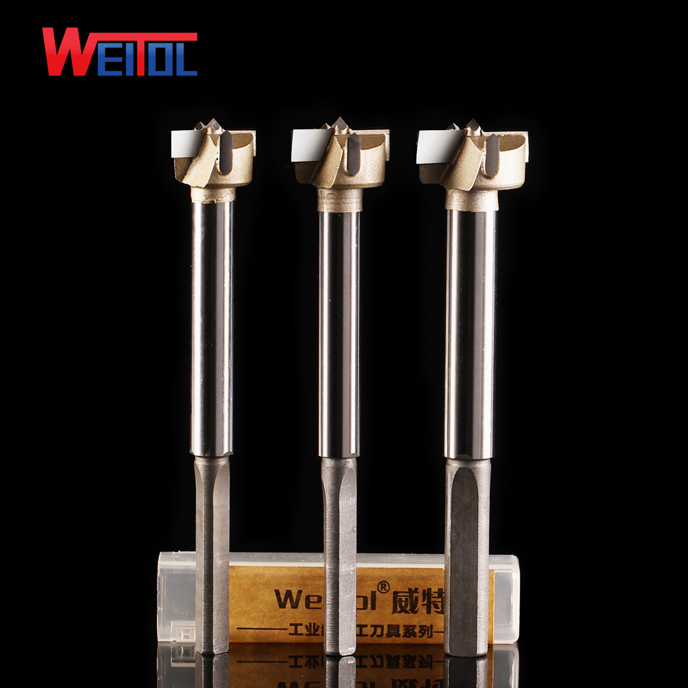 Weito 2 pcs lengthen professional Woodworking Boring Wood Hole Opener Saw Cutter Drill Bit Wood Working Forstner Drill Bits 5 pcs set auger drill forstner bit set hinge boring woodworking hole saw cutter round shank wood tools for drilling machine