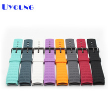 High Quality Silicone Rubber Watchband Smart watch band 22mm Watch Strap for suunto elementum terra wristwatches belt