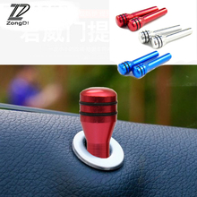 ZD 2Pc Automobiles For Volvo S60 V70 XC90 XC60 Subaru Forester Peugeot 307 206 308 407 Car Metal Door Pin Lock Knob Lift Covers