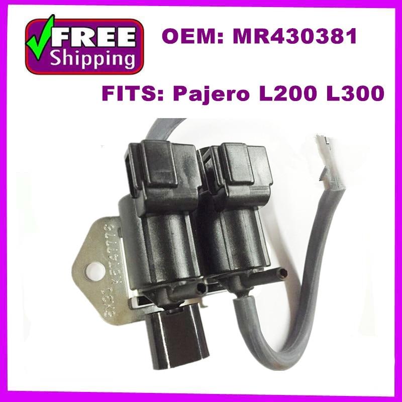 Freewheel Clutch Control Solenoid Valve MB620532 MR430381 MB937731 For mitsubishi Pajero L200 L300 V43 V44 V45 K74T V73