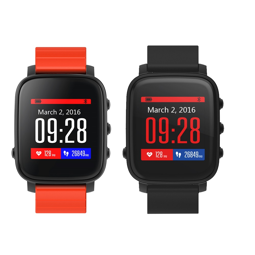 SMA TIME Bluetooth SmartWatches Sports Waterproof Sleep Heart Rate Tracker Wristband font b Stopwatch b font