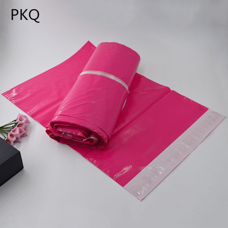 Image 3 - 100pcs 17*30cm Usable Size 17*25cm Multi color Poly Bubble Mailers PE Plastic Padded Envelope Shipping Bags Mailing Bags-in Paper Envelopes from Office & School Supplies