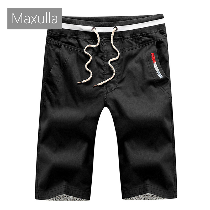 Maxulla Summer Mens Cargo Shorts Casual Men Cotton Elastic Waist Beach Shorts Male Thin Breathable Shorts Homme Clothing 4XL