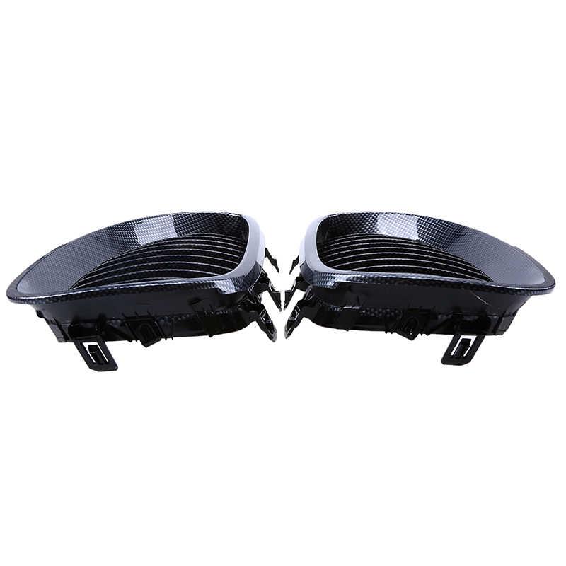 Possbay Mobil Depan Ginjal Hood Kisi Serat Karbon untuk BMW 5-Series E60/E61 M5 545i/550i /M5 2004-2011 Depan Pusat Balap Pemanggang