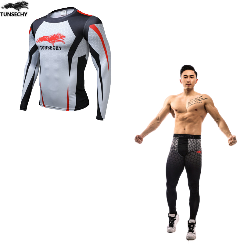 Top Quality New Thermal Underwear Men Underwear Sets Compression Thin Sweat Quick Drying Thermo Underwear Men Clothing
