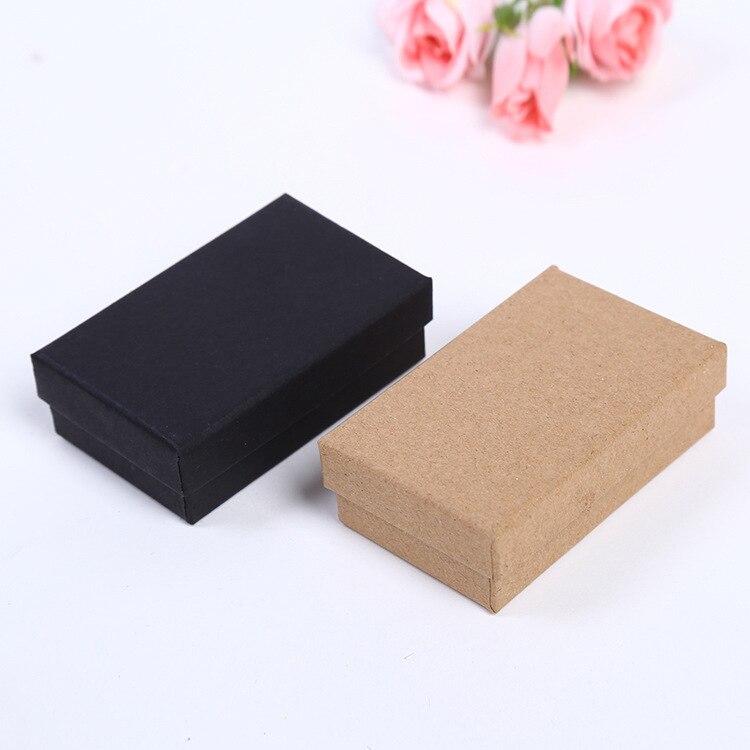 DoreenBeads 2018 New Paper Gift Box Wholesale Exquisite Ring Box Jewelry Box Jewelry Box  8*5*2.5cm 1 Piece