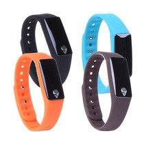 Смарт-часы запястье Приборы для измерения артериального давления сердечного ритма Мониторы M3 браслет Спорт часы браслет Bluetooth SMS напоминание