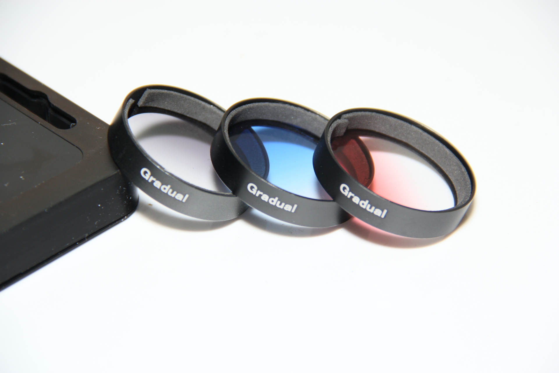 Graduated gradual Color ND Grey Orange Blue red Lens Filter Protector for DJI Phantom 3 airial Camera