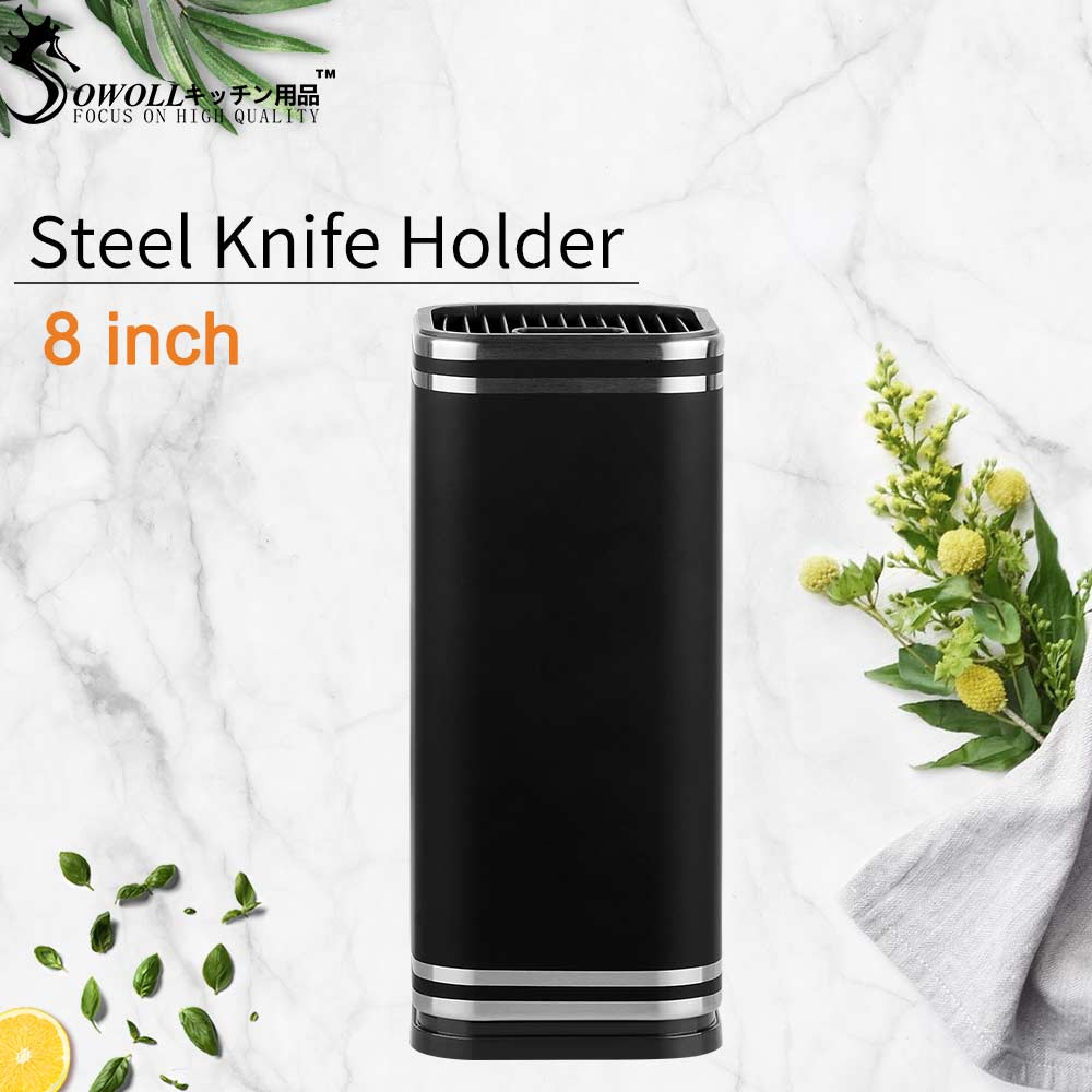Sowoll Stainless Steel Kitchen Stand Multifunctional Tools Holder 8
