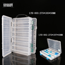 Kingdom Lures Single Double Sided Fishing Deal with Field Equipment Bait Storage Field Clear Shrimp Bins Fishing Deal with Pesca