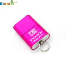Binmer Factory Price High Speed USB 2.0 Micro SD TF T-Flash Memory Card Reader Adapter HOT 60310 mosunx Drop Shipping(China)