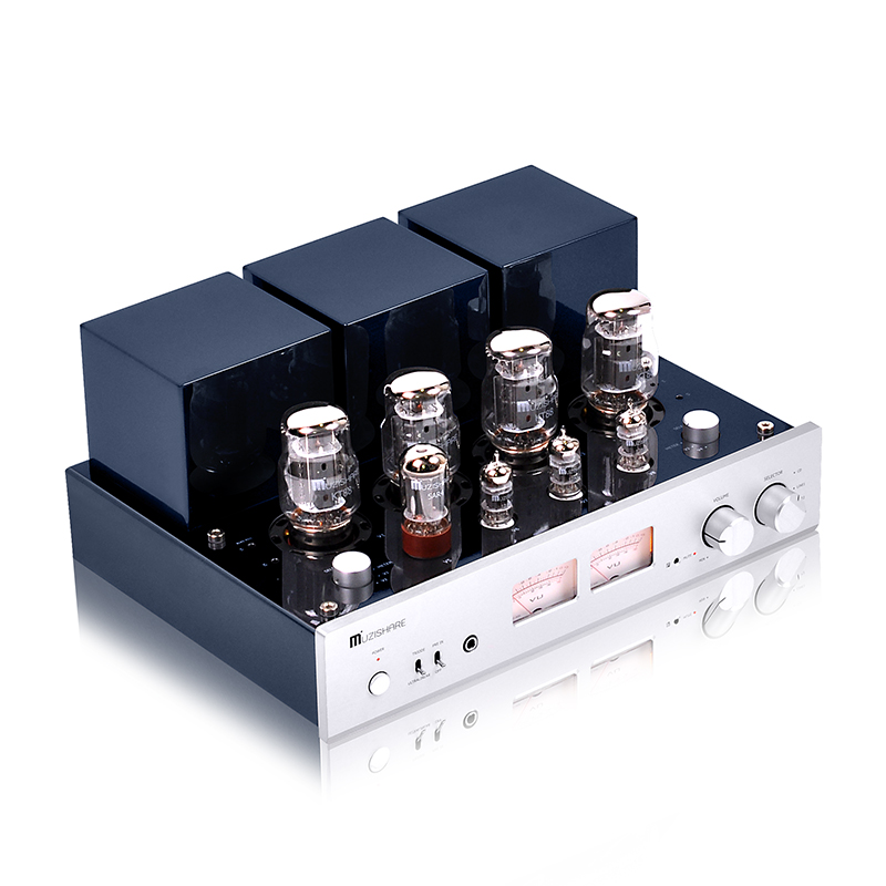 Music Hall Latest Hi-end Push-pull Stereo KT88 Valve Dual high pressure Tube Amplifier Phono Preamp 45W*2 Integrated Power Amp music hall latest muzishare x5 hifi push pull el34 vacuum tube integrated amplifier headphone power amp 35w 2