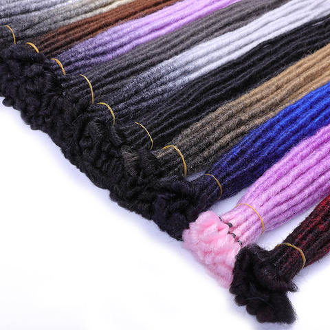 SAMBRAID Dreadlocks Hair Extensions Crochet Braids 24 Inch Crochet Hair Ombre Brading Hair Synthetic Hair Extension For Braids Islamabad