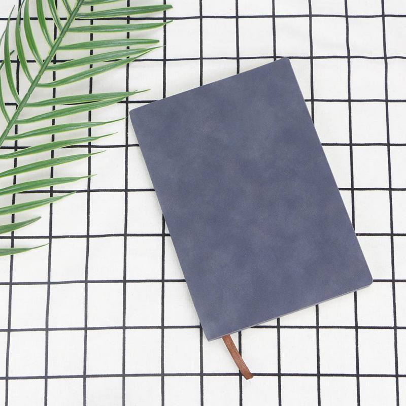 A5 Imitation Leather Wireless Binding Notebook Journal