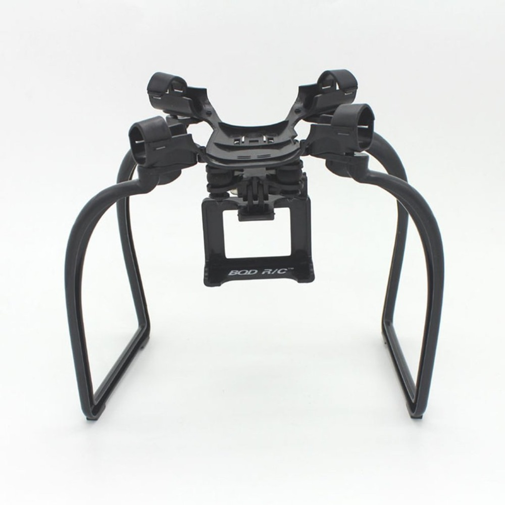 RC Drone Legs Landing Gear Action Gimbal Mount Camera Holder Drone Spare <font><b>Parts</b></font> for Hubsan X4 H501A H501C <font><b>H501S</b></font> Aircraft image