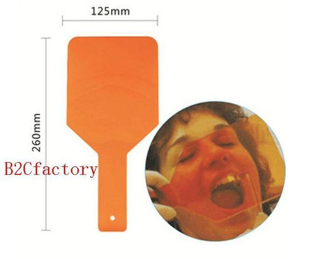1 unidades de Luz de Curado Dental Protectora Escudo Mano Tablero de la Placa