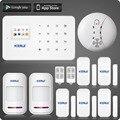 Kerui g18 ios android app controle gsm sistema de alarme com tela sensível ao toque tft a cores display de fácil operação em casa sistema de alarme