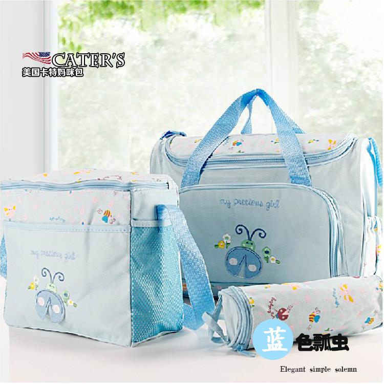 324519c6898a2 Nappy Bags 2pcs set Diaper Bags Designer Maternity Mummy Bag For Baby Stuff  YS 005-in Diaper Bags from Mother   Kids on Aliexpress.com