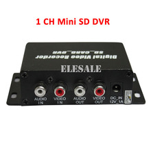 New 1CH Mini SD DVR Audio/Video Record CCTV Security Camera Recorder Motion Detection D1 Car DVR Support Max 32G