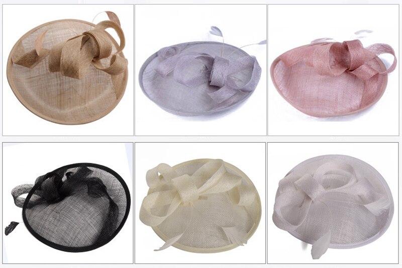 Новое поступление свадебный головной убор Винтаж женские свадебные Шапки элегантные вечерние шляпа маскарад поставок Свадебные украшения