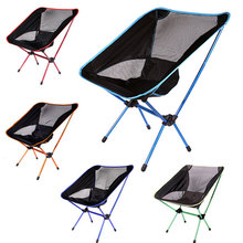 5 Colors Outdoor Portable Lightweight Folding Hiking Camping Stool Seat Chair Lightweight  Fishing Chair