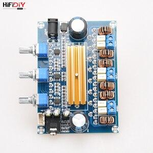Image 5 - HIFIDIY VIVER A2.1 TPA3116 2.1 Carro Placa Amplificador Hi Fi Amplificador de Áudio Digital 50 w * TPA3116 2 + 100 w casa para a Coluna