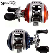 Sougayilang Water Drop Wheel Baitcasting Fishing Reel 10+1BB High Speed Reel Wheel Anti-Corrosive Full Metal Drum Trolling Reel