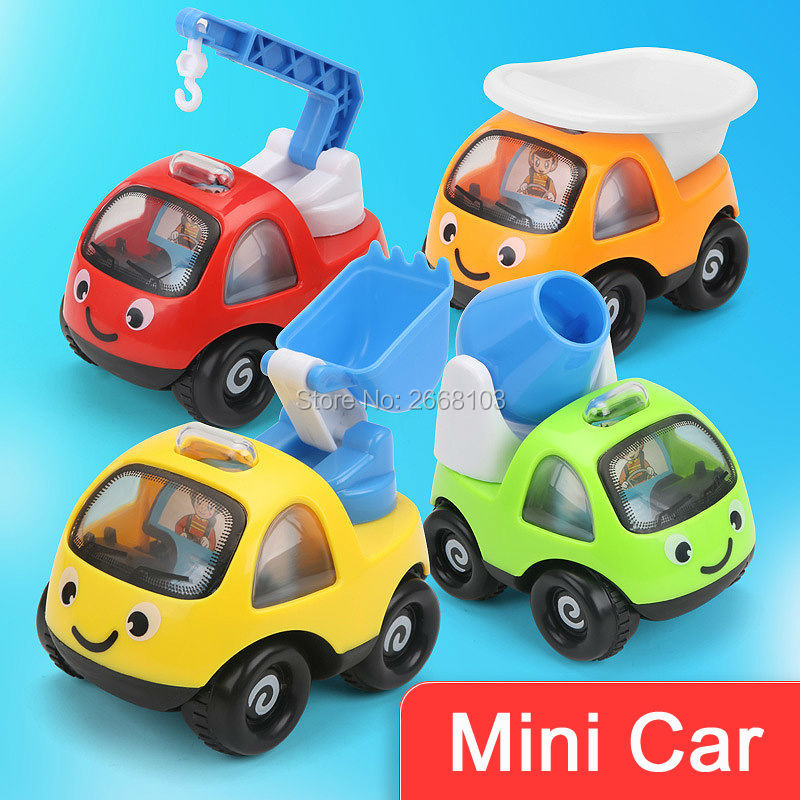 aliexpresscom buy 4pcs beach toy high quality mini cars cartoon playing pull back sand tools truck kid vehicles fun children gift racing car model from