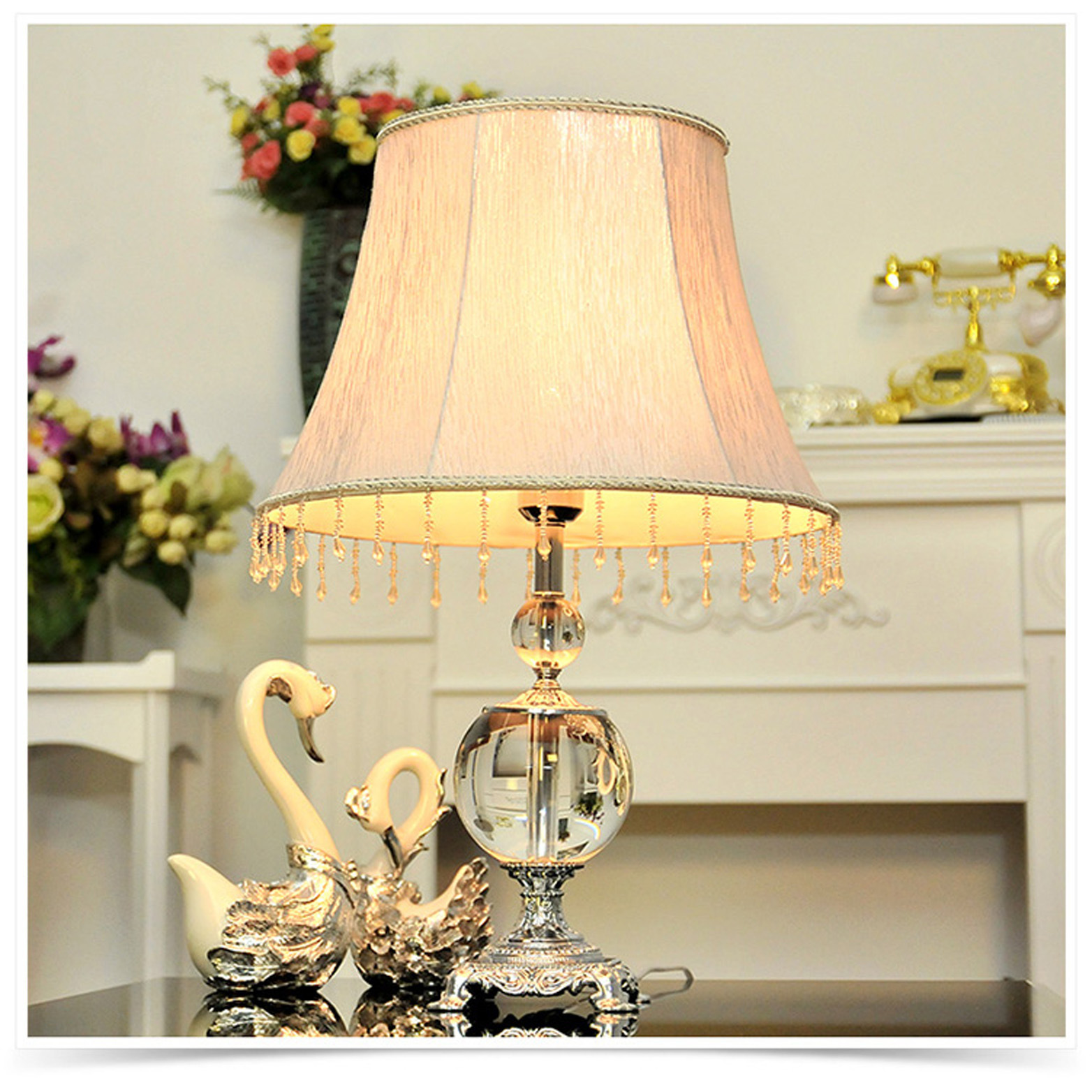 Table lamp design classic - Tuda 2017 New Classic Luxury Lighting Crystal Table Lamp For Living Room Bedroom Bedside Table Lamp