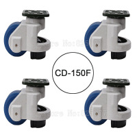 4PCS CD 150F Load Bearing 1500kg Pcs Level Adjustment MC Nylon Wheel And Aluminum Pad Leveling