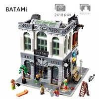 Model klocki budowlane zabawki kompatybilne z twórców ulica miasta obiekt 15001 15002 15003 15004 15005 15006 15007 15008