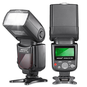 цена на Neewer 750II TTL Flash Speedlite with LCD Display for Nikon D5000 D3000 D3100 D3200 P7100 D7000 D700 Series and Other Nikon DSLR