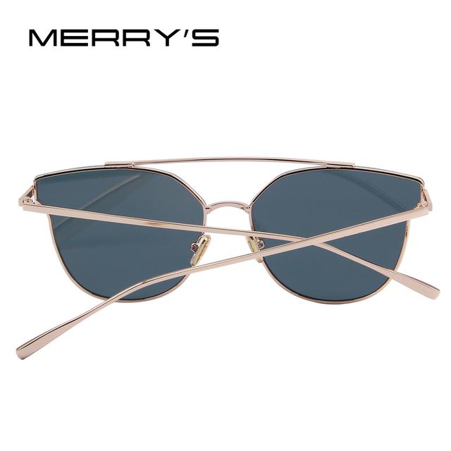 MERRY'S Women Cat Eye Sunglasses Classic Brand Designer Sunglasses S'8089