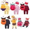 NYAN CAT Halloween Baby Costume Pumpkin Strawberry Bee Clothing Set 3pcs Hat Romper Bodysuit Infant Toddler