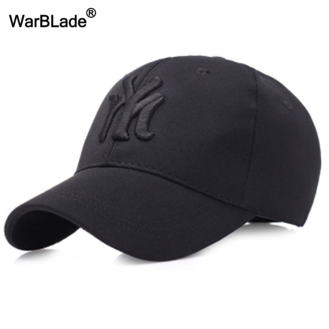f0d35962fb38 US $4.58 49% OFF|2018 New unisex black baseball cap men snapback hat women  cap flexfit fitted hat Closed Male full cap Gorras Bones trucker hat-in ...